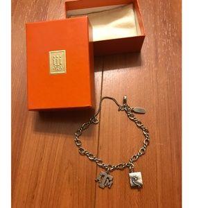 James Avery Charm Bracelet w/ 2 charms